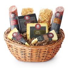 cheese gift baskets hickory farms reserve artisanal salami cheese hickory farms