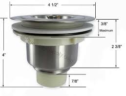 Huge Selection Of Basket Strainers For Kitchen And Bar Sinks - Kitchen sink basket strainer waste
