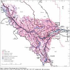 Banff National Park Map Ghost Reservoir
