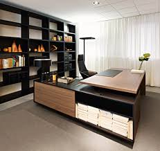 Home Office Interior Design by Rectangular Executive Desk Report By Sinetica Industries Design