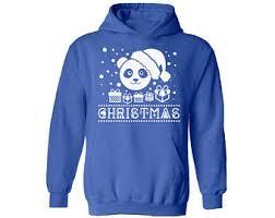 panda hoodie etsy