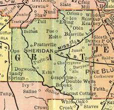 grapevine map grant county arkansas genealogy history maps with