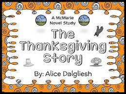 the thanksgiving story dalgliesh book study