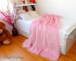 light pink fur blanket pink mongolian faux fur throw blanket comforters luxurious
