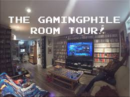 video game room tour hd thegamingphile youtube