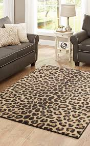 better homes and gardens cheetah print area rug home decor