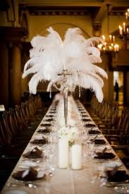 great gatsby centerpieces reception ideas thebridalspy