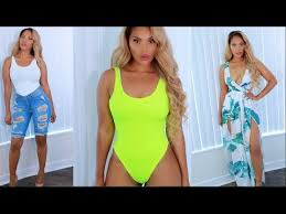 miami styles try on haul summer 2017 hot miami styles