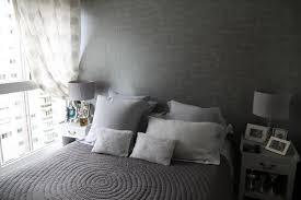 deco chambre gris et blanc aménagement deco chambre gris blanc noir