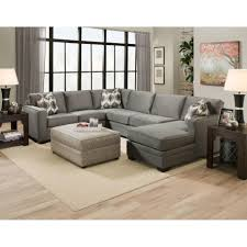 Grey Sectional Sleeper Sofa Furniture Cozy Living Room Using Stylish Oversized Sectional