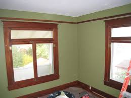 living room wall color with wood trim 13 image