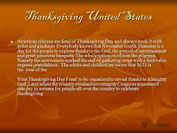 презентация на тему thanksgiving day thanksgiving united states