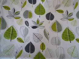 Modern Floral Curtain Panels 10 Metres Yards Lime Green Grey Floral Cotton Fabric Funky Uk