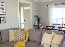 yellow and gray room benjamin moore revere pewter with cream trim yellow and gold and