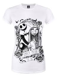 nightmare before simply meant to be white t shirt
