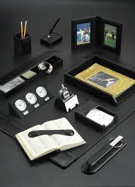 Promotional Desk Accessories Leather Promotional Desk Sets And Accessories