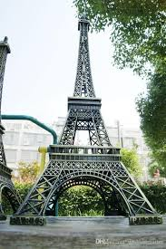 eiffel tower decorations large size 72 cm 3d eiffel tower model bronze metal crafts