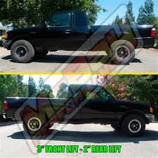 ford ranger with a lift kit 3 2 1 front coil spacer lift kit for 2wd ford f150