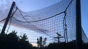 diy batting cage backyard design youtube