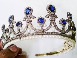 tiaras for sale tiaras for sale 54 00ct cut diamond pearl sapphire tiara