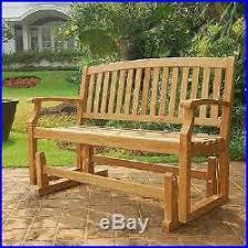 teak patio furniture best wooden outdoor porch swing glider garden