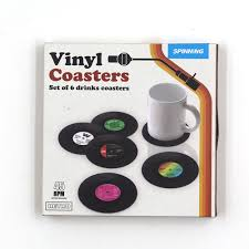 set 6 pcs vintage style 6pcs set fashion vintage retro cd disco style cup drinks
