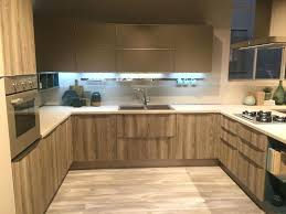 under cabinet led lighting puts the spotlight on the earth tone kitchen moute