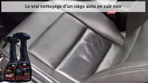 nettoyant siege auto nettoyage d un siège auto en cuir noir