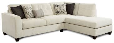 fusion furniture 1515 1516 contemporary sectional sofa with right