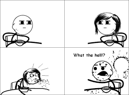 Spit Out Cereal Meme - what the hell cereal guy rage comics funny pictures