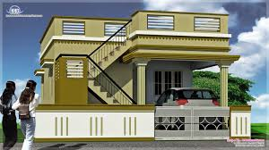 front elevation of single floor house kerala style plans
