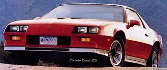 1982 camaro z28 specs 1982 chevrolet camaro z28 lg4 abundance of character car