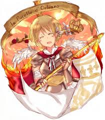 Joan Of Arc Flag Banner Zerochan Anime Image Board