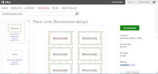 wedding place card template microsoft word make wedding planning easier using microsoft office