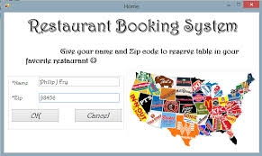 restaurant booking system sucheta u0027s project log