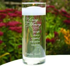 in loving memory personalized gifts memorial candle holders memorial candles