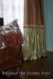 turning ready made curtains into custom window treatments beyond