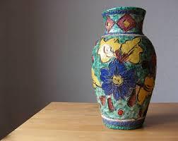 Antique Ceramic Vases Vintage Ceramics Etsy