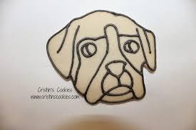 boxer dog umbrella cristin u0027s cookies happy birthday eddie boxer dog cookies