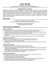Sample Resume For Bartender by Resume Templates 101 Overhaul Manager Resume Template Premium