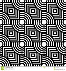 seamless geometric pattern simple vector black and white stripe