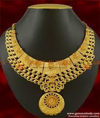 necklace designs images Nckn243 queens necklace design grand party wear imitation choker jpg