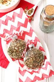 dip mix ornaments each ornament holds spices that when mixed with