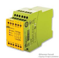 pnozx4 pilz safety relay 3pst no 8 a pnoz x4 series din rail
