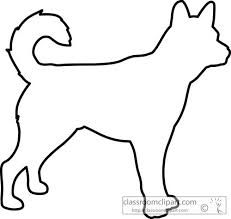 25 dog outline ideas dog illustration