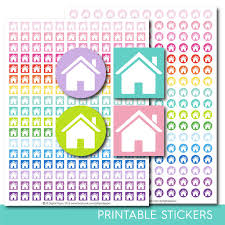 house planner stickers chore planner stickers housework stickers
