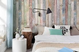 chambre en bois papier peint chambre d aspect bois 30 idées magnifiques