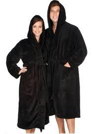 robe de chambre capuche peignoir homme noir capuche remc homes