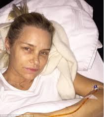 yolanda foster a hair salon yolanda foster posts hospital bed snap as she fights battle with