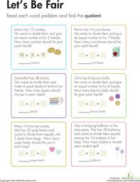 our favorite division worksheets for 3rd grade education com